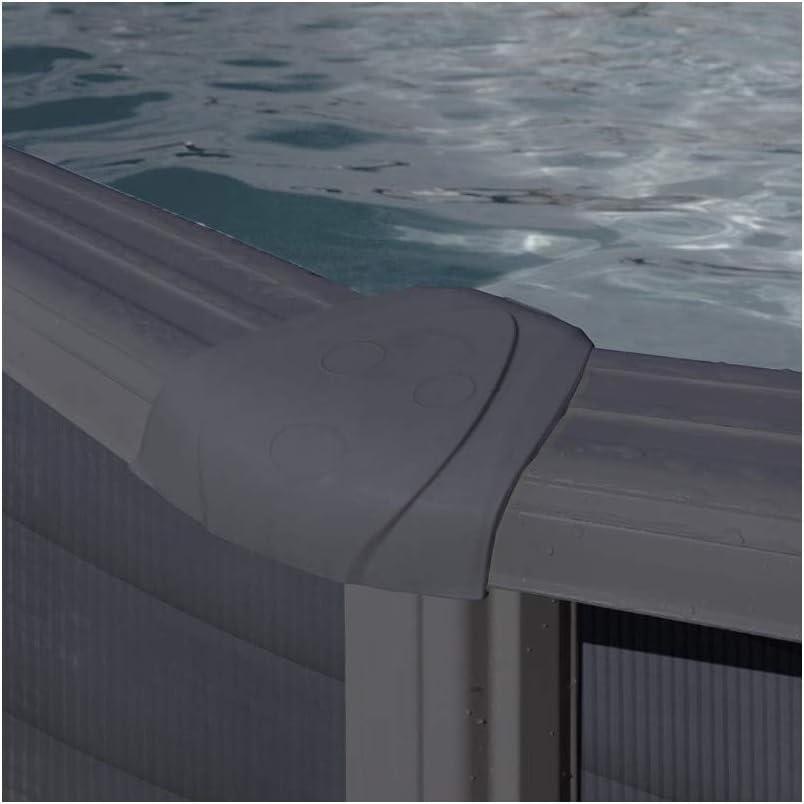 KIT240GF - Piscina exterior con paneles Gre Kea, diámetro 240 x altura 120 cm: Amazon.es: Bricolaje y herramientas