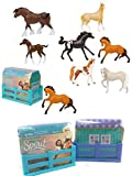 NEW! COLLECTIBLE! SET OF 2 DreamWorks SPIRIT RIDING FREE Mini Horse Figures Blind Box - Realistic Horses - Perfect for both KIDS and COLLECTORS ALIKE!