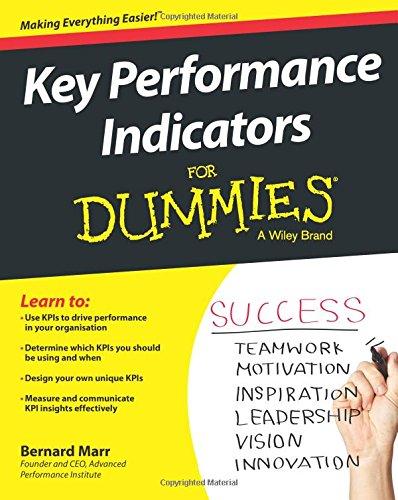 Performance Indicators Dummies Bernard Marr product image