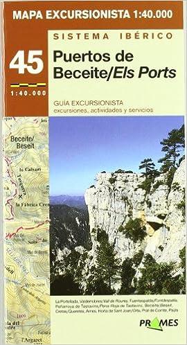 Mapa Excursionista Puertos De Beceite/els Ports, E 1:40.000 ...