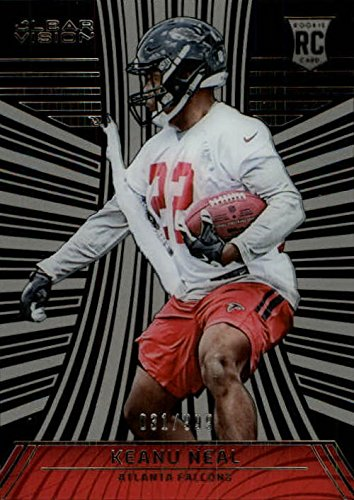 2016 Panini Clear Vision Atlanta Falcons Football Card #134 Keanu Neal Rookie - Neal Ball