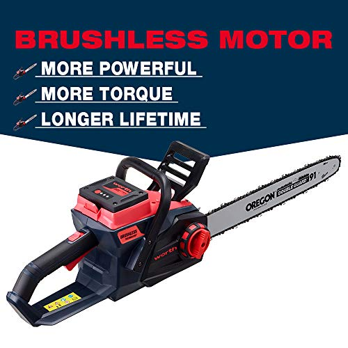 Worth 18-Inch Battery Chainsaw