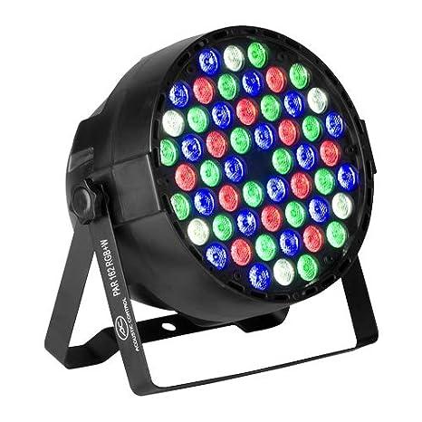 Luces disco. Proyector led profesional. PAR 162 W LED RGB y ...
