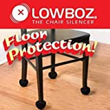 Lowboz | Floor Protection - 1 Chair Pack / BLACK