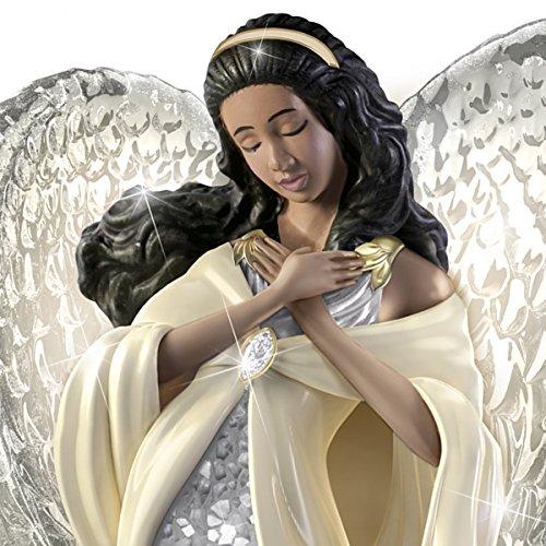 Buy african american porcelain angel