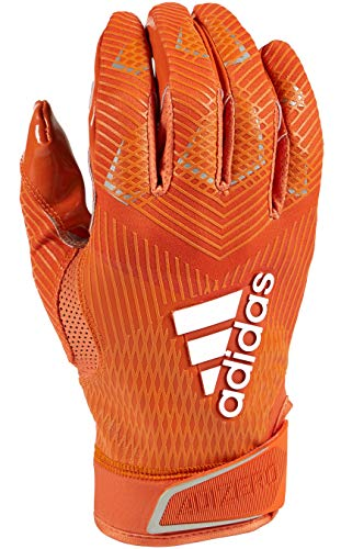 adidas Adizero 8.0 Football Receiver's Gloves Orange - Gloves Adidas Football