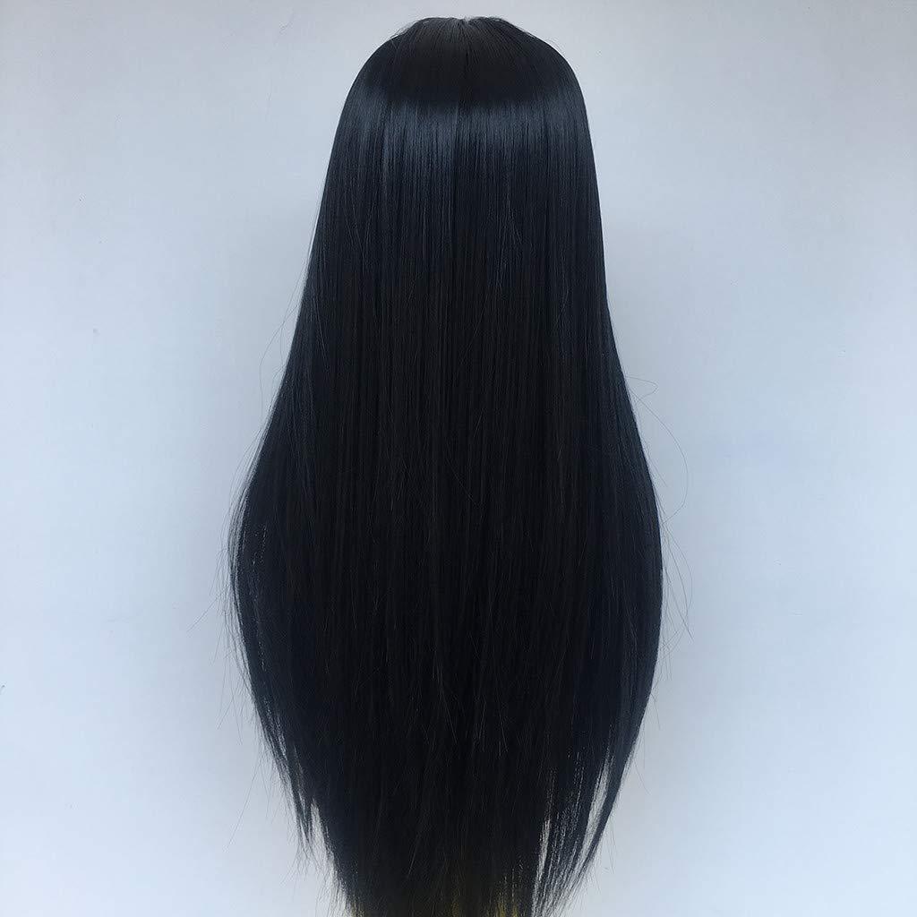 kashyk 65CM Damen Per/ücken,Human Hair Straight Smooth Natural Hair Echthaarper/ücken f/ür Schwarze Frauen real remy Brazilian Hair