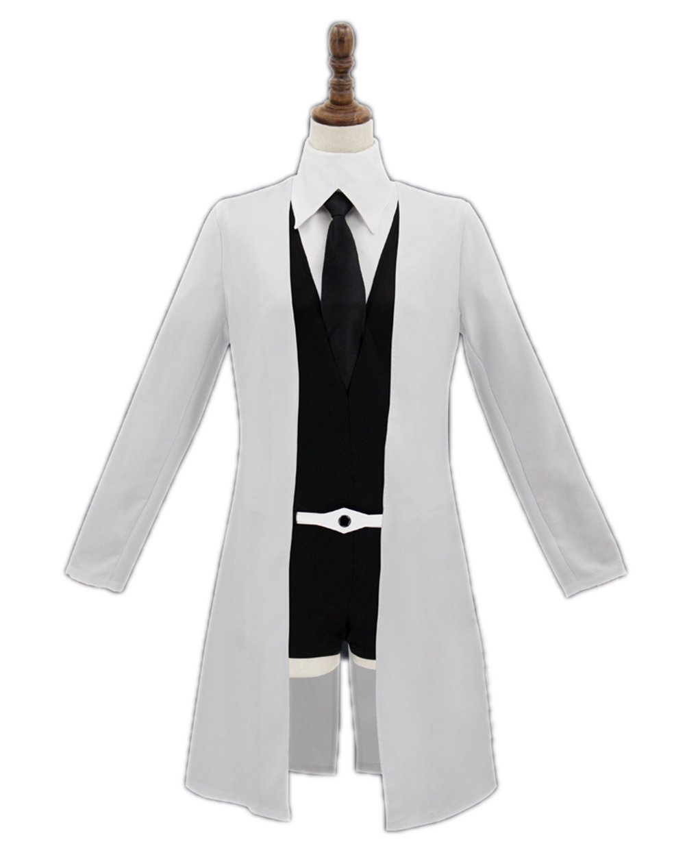 Nuoqi Land The Lustrous Cosplay Costume Womens Anime Gems Coat (Medium, Rutile Doctor Coat)