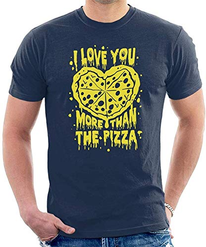 I Love You More Than The Pizza – Camiseta para hombre