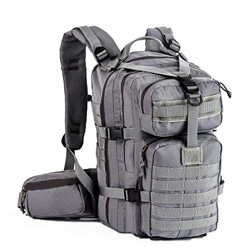 Gelindo Military Tactical Backpack, Army Molle Bag, Small Rucksack, Hydration Backpack Perfect for Hunting, Survival, Camping, Trekking, School, 35L