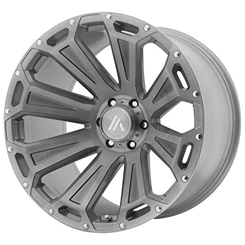 (ASANTI OFF ROAD AB813 CLEAVER Titanium-Brushed Wheel with Gray (22 x 10. inches /6 x 78 mm, -12 mm)