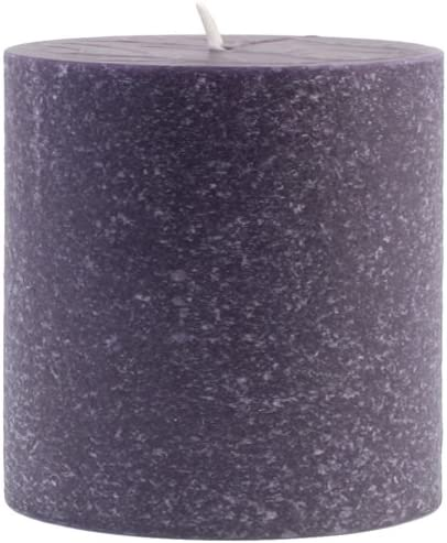 Beeswax Root Candles Unscented Timberline Pillar Candle 3 x 3-Inches