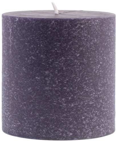 Root Scented Timberline Pillar Candle, 3-Inch by 3-Inch Tall, Very - Floral Starring