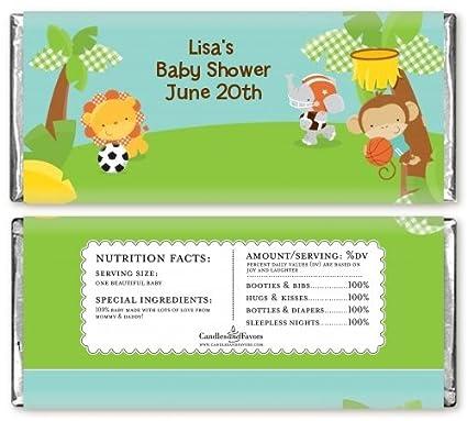 Amazon.com: Equipo Safari – personalizable de bebé ducha ...