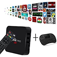 [Free Wireless Mini Keyboard] DIGOU MX Pro Android TV Box Amlogic S905x Chipset Android 6.0 Lollipop OS TV Box Quad Core 1G/8G 4K with WiFi