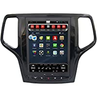 10.4 Android Car GPS Navigation with HD Vertical Touchscreen Built-in Wi-Fi Infotainment System Quad-Core Multimedia Player in-dash Receiver for JEEP GRAND CHEROKEE 2014-2017
