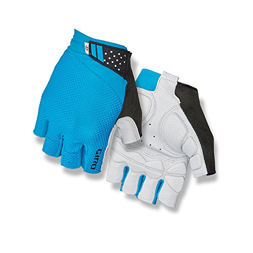 Giro Monaco II Gel Cycling Gloves Blue Jewel Medium
