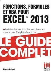GUIDE COMPLET£FONCTIONS FORMULES EXCEL 2013