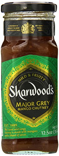 Sharwood's Mango Chutney, Ff, Major Grey, 12.5 Ounce (Pack of 6) (Chutney Grey Major)
