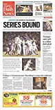 Los Angeles Dodgers Win Pennant Los Angeles Daily News Newspaper October 20, 2016