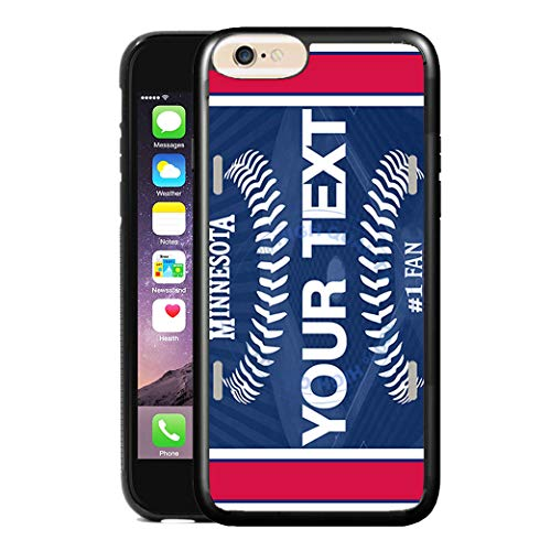 Twins Minnesota Note - BRGiftShop Customize Your Own Baseball Team Minnesota Rubber Phone Case for Apple iPhone 8 & iPhone 7