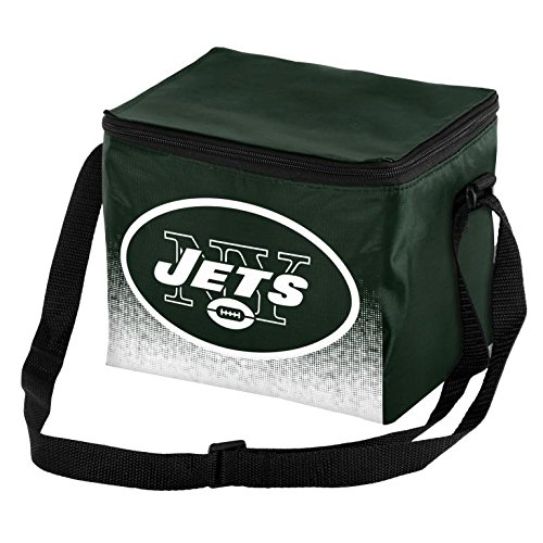 Forever Collectibles NFL Unisex Gradient Print Lunch Bag Coolergradient Print Lunch Bag Cooler, New York Jets, Standard