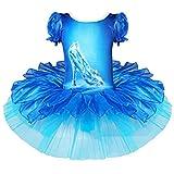 Best Crystals For Girls - TiaoBug Girls Gymnastics Crystal Shoes Print Dance Ballet Review