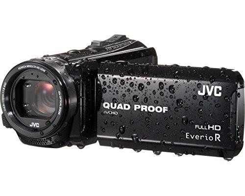 JVC GZ-R410BEU Full HD Speicherkarten-Camcorder schwarz