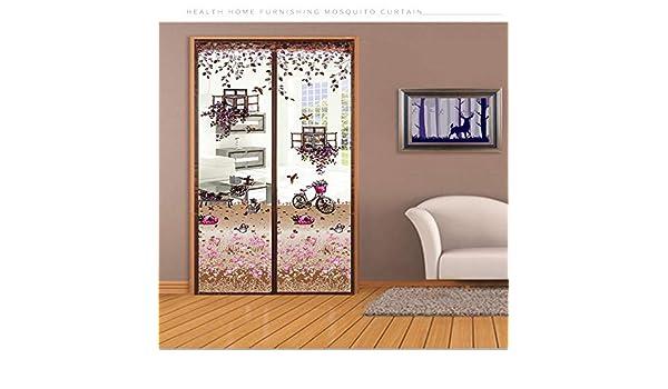 lijunchengxiaodian - Cinta de Montaje Completa para Tres tamaños de Puerta, Cortinas magnéticas y mosquiteras: Amazon.es: Hogar