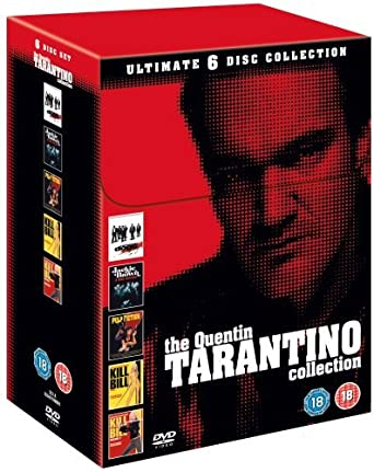 Tarantino Collection Reservoir Dogs/Pulp Fiction/Jackie Brown/Kill ...