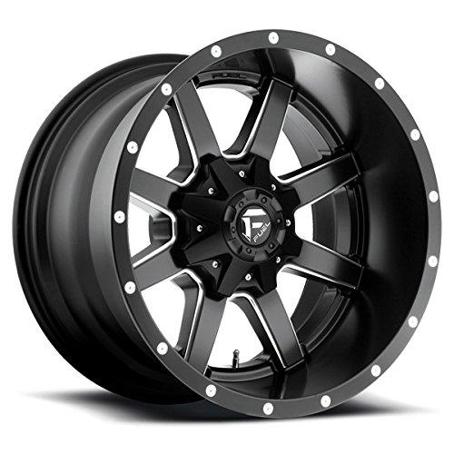 Fuel D538 Maverick 18x12 8x170 -44mm Black/Milled Wheel - X Maverick