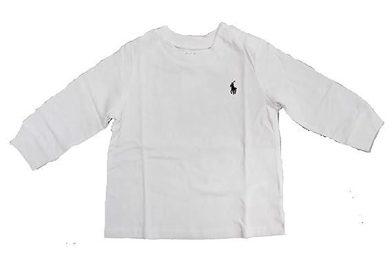 0e8bd22285f22 Ralph Lauren Baby Boy Long Sleeve T Shirts Authentic  Amazon.co.uk  Clothing