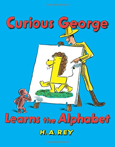 Curious George Learns the Alphabet: Rey, H. A., Rey, Margret:  9780395160312: Amazon.com: Books