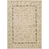 """Nourison Somerset (ST04) Beige Rectangle Area Rug, 7-Feet 9-Inches by 10-Feet 10-Inches (7'9"""" x 10'10"""")"""