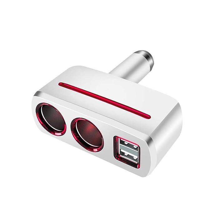 Cargador de Coche USB GuFuny, Adaptador de mechero de Coche ...