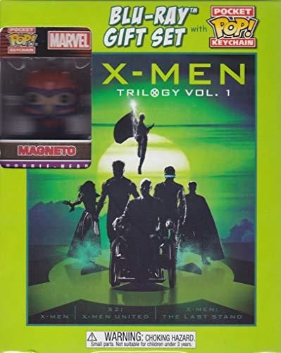 X-Men Trilogy Vol. 1 Blu-ray Gift Set with Pocket Pop! Keychain
