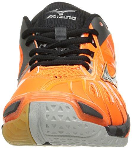 Mizuno Mens Våg Tromb X Volleyboll-shoes Orange / Svart