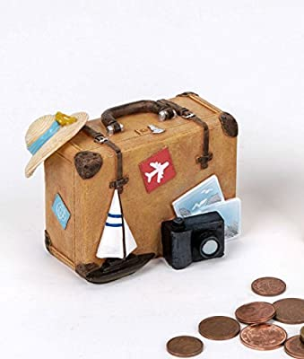 Hucha Maleta viaje vacaciones – Caja registradora Dinero Viaje Dinero Hucha vacaciones Dinero regalo: Amazon.es: Hogar