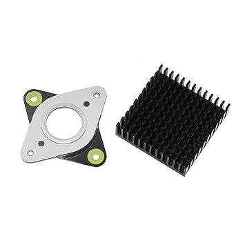 Aibecy Impresora 3D Metal y caucho Motor paso a paso Amortiguador ...