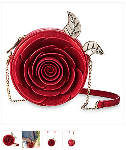 Beauty and the Beast Enchanted Rose Crossbody Bag by Danielle Nicole by Danielle Nicole