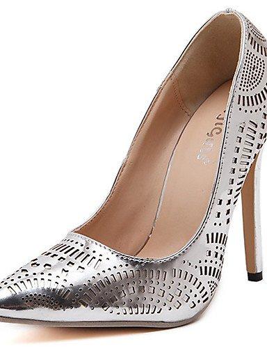cn40 GGX Tacones Zapatos Plata Oro us8 PU cn40 5 Boda us6 uk4 golden us8 5 Tacón eu36 5 eu39 Vestido golden Stiletto Puntiagudos uk6 Confort mujer de eu39 5 cn36 uk6 silver HHq06wdr