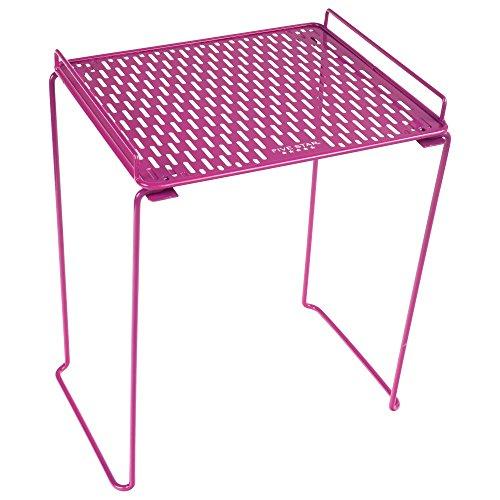Five Star Extra Tall Locker Shelf, Holds 100 lbs., Fits 12 Width Lockers, Locker Accessories, Purple (73323)