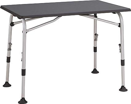 Campingtisch Amazon.Westfield Tisch Aircolite Grau L 120 X B 80 Cm Höhenverstellbar Klapptisch Campingtisch Balkontisch