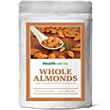 Healthworks Almonds Whole Raw Unpasteurized (Sproutable) Pesticide-Free, 2lb
