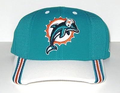 Miami Dolphins NFL Reebok On Field Side Line Adjustable Hat