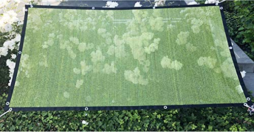 Alion Home HDPE 50% Sun Block Garden Netting Mesh (6'x6'6'', Green)