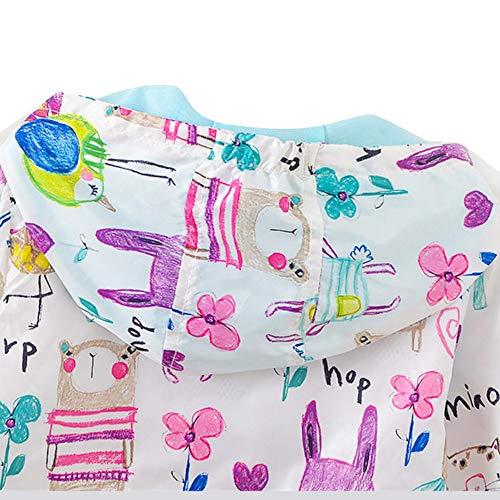 Blaward Kleinkind Baby M/ädchen Kleidung Langarm Kapuzen Rei/ßverschluss Mantel Bunt Bedruckte Baby Outfits
