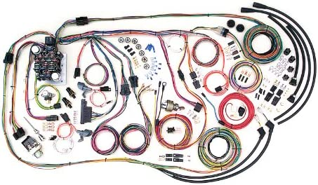 [SCHEMATICS_4UK]  Amazon.com: American Autowire 500481 Truck Wiring Harness for 55-59 Chevy:  Automotive | 1956 Chevy Wiring Harness |  | Amazon.com