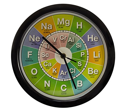 Getdigital chemistry clock amazon kitchen home getdigital chemistry clock urtaz Images