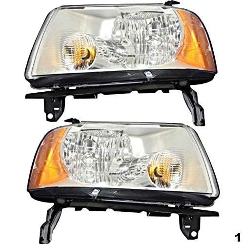 (Aftermarket Fits 05-07 Freestyle Left & Right Headlamp Assemblies (Pair))
